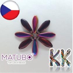 MATUBO™ JAZÝČKY - pokovené - 5 × 16 mm