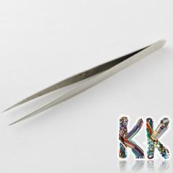 Nerezová pinzeta - rovná se špičkou - 135 x 9 x 5 mm