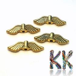 Přívěsek křídla - 21 x 8 x 2 mm