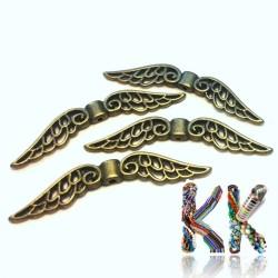 Přívěsek křídla - 50 x 12 x 3 mm