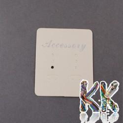 Karta na náušnice - 55 x 45 mm