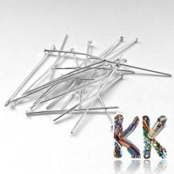 Železné ketlovací nýty - 30 mm - množství 1 g (cca 7 ks)
