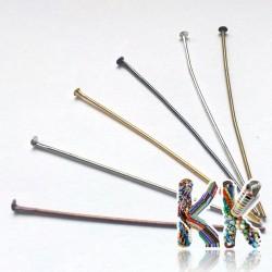 Železné ketlovací nýty - 50 mm - množství 1 g (cca 5 ks)