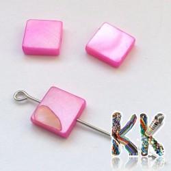 Perleťové čtverečky - 10 mm