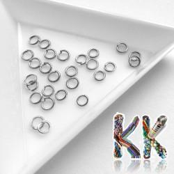 Spojovací kroužky - ∅ 4 mm (10 ks)