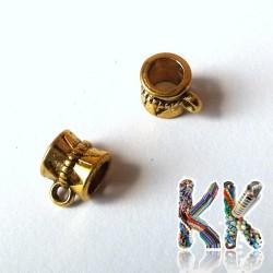Korálek s očkem - váleček mašličkový - 8 x ∅ 7 mm