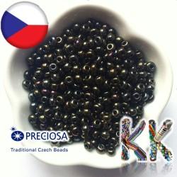 Rokajl Preciosa - 6/0 - neprůhledný pokovený