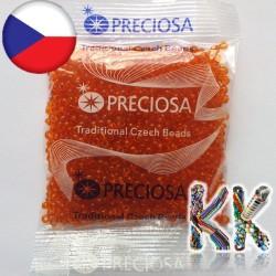 Rokajl Preciosa - průhledný - 7/0 - ∅ 3,5 mm