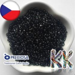 Rokajl Preciosa - průhledný - 8/0 - ∅ 2,9 mm