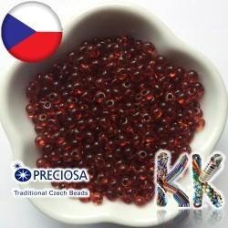 Preciosa Drops - průhledný - 5/0 - ∅ 4,6 mm
