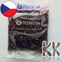 Preciosa Dvoukrátky - průhledné perleťové - 10/0 - ∅ 2,1 mm