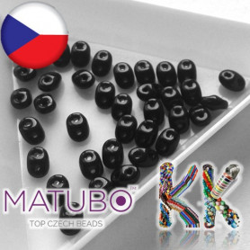 MATUBO™ SUPERDUO - neprůhledné - 2,5 x 5 mm
