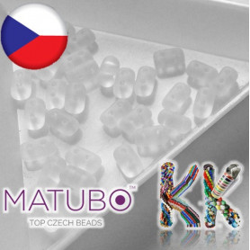 MATUBO™ RULLA - průhledná matná - ∅ 3 x 5 mm